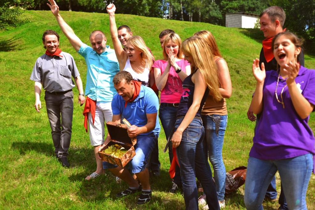 Тимбилдинг в Красноярске - командные конкурсы