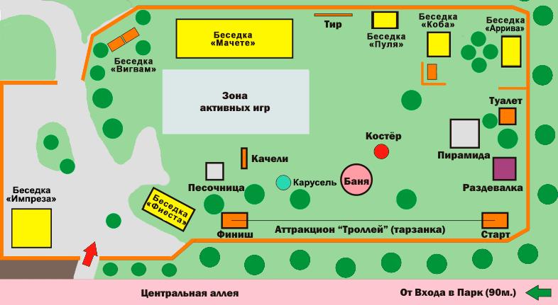 Беседки в Красноярске